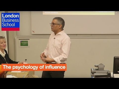 Executive Education - The psychology of influence