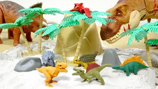 ダイソーで買った可愛い恐竜の消しゴムおもしろ消しゴム2袋開封紹介!子供向けDinosaurseraserForChildren