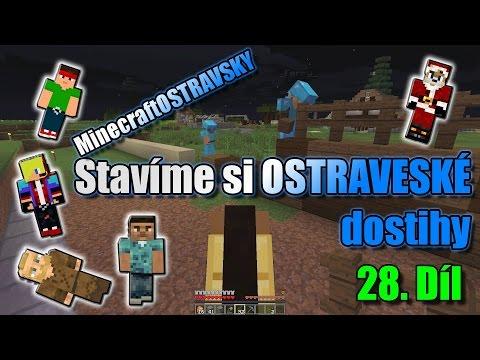 #28 | MinecraftOSTRAVSKY - Stavíme si OSTRAVSKÉ dostihy | NEKONEČNÁ SÉRIE | [FULLHD]