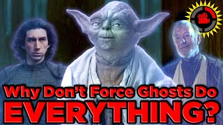 Film Theory: Star Wars, Why don't Force Ghosts do EVERYTHING?