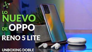 OPPO Reno5 Lite | UNBOXING en español | Precio en México