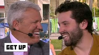 Rex Ryan and Baker Mayfield come face-to-face to address 'overrated as hell' comments | Get Up