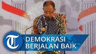 Sesmenko Polhukam Tri Soewandono Sebut Demokrasi Indonesia Berjalan Baik