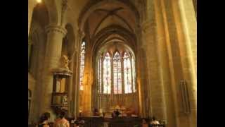 The Basilica of St. Nazaire and St. Celse in Carcassonne