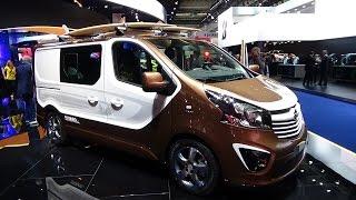 Opel Vivaro Panel Van L1H1 1.6 CDTI ecoFlex Exterior and Interior ...