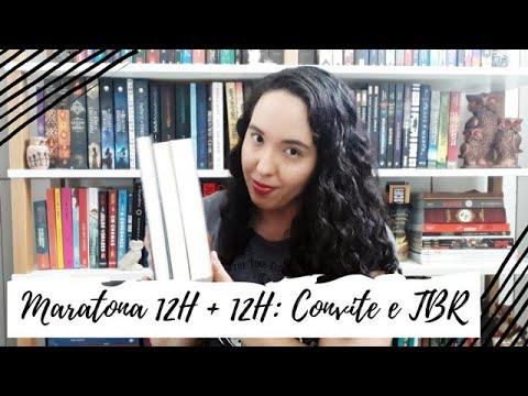 Maratona Literária 12H +12H (8ª Edição): Convite e TBR | Um Livro e Só