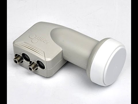 TRIAX THTW 01 HD UNIVERSAL TWIN LNB - UNBOXING