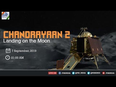 Watch LiVE : Landing of Chandrayaan-2 on Moon