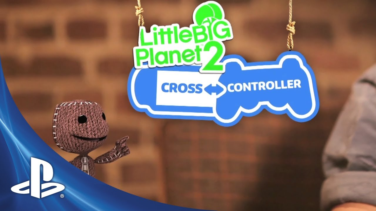 LittleBigPlanet 2: PS Vita Cross-Controller Pack Out Today