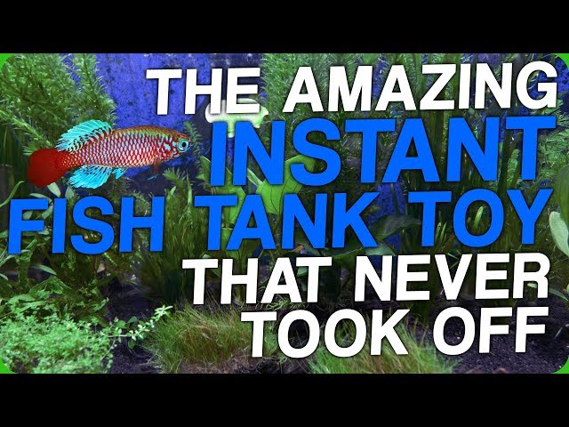 The Amazing Instant Fish Tank Toy That Never Took Off (My Favourite Pet)