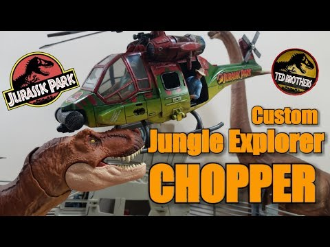 Jurassic Park Custom Chopper