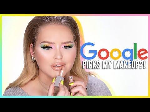GOOGLE PICKS MY MAKEUP CHALLENGE! | NikkieTutorials