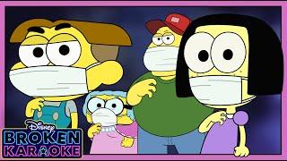 ZOMBIES 2 Flesh & Bone Parody 💥   Stuck At Home   Broken Karaoke   Big City Greens   Disney Channel