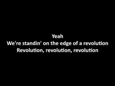 Nickelback - Edge Of A Revolution with lyrics
