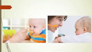 How to start weaning, complementary feeding. Advice for parents. Dr Sridhar Kalyanasundaram