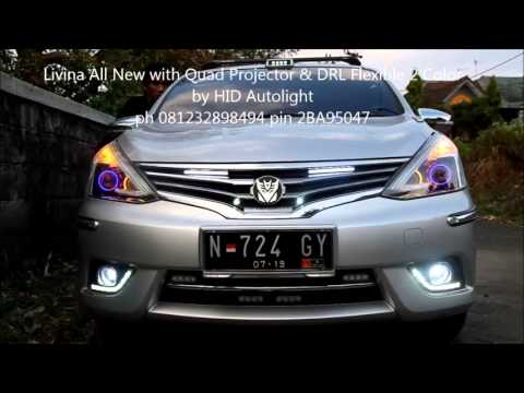 drl grand new avanza 2015 type g hid autolight toyota with projector 2 colors flexible thumbnail all