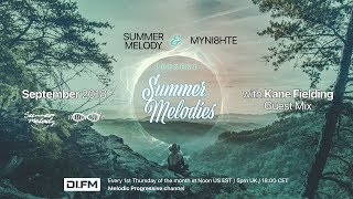 Summer Melodies on DI.FM - September 2018 with myni8hte & Kane Fielding [Best MeloProg Mix]