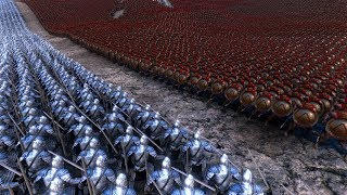 20000 GONDOR SOLDIERS vs 10000 SPARTANS - Ultimate Epic Battle Simulator