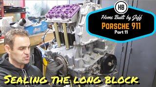 Sealing up the long block  -  911 2.8 RSR Build Season 2.11