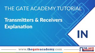 Transmitters & Receivers Explanation | Communication System Tutorials | Live Interactive Classes