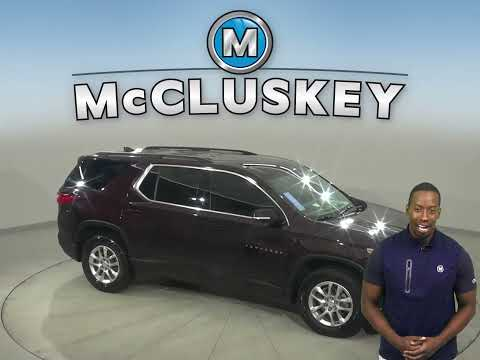Certified Pre-Owned 2020 Chevrolet Traverse LT Cloth