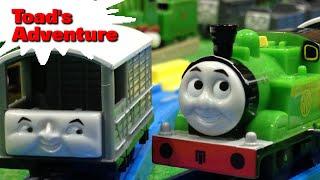 """トーマス プラレール ガチャガチャ トードの冒険 Tomy Plarail Thomas """"Toad's Adventure Season18"""""""