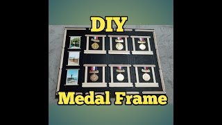 DIY |Display Frame For My Medals| How To Make In A Simple Way|