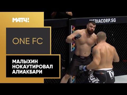 One FC: Анатолий Малыхин vs Амир Алиакбар - video