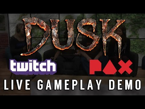 DUSK LIVE Gameplay Demo with Twitch at PAX East 2017 thumbnail