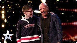 GOLDEN BUZZER: Dreams come true for Ant and Dec's Greatest Showman Jon Courtenay   BGT 2020