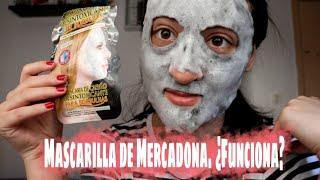 MASCARILLA DE CARBÓN DESINTOXICANTE DE BURBUJAS | MERCADONA