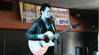"Andy Grammer performs ""Lunatic"" at Funky Murphys 2010"