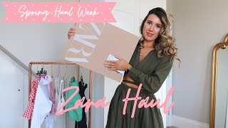 ZARA SPRING HAUL // SPRING HAUL WEEK 2021 🌸  // DAY 1