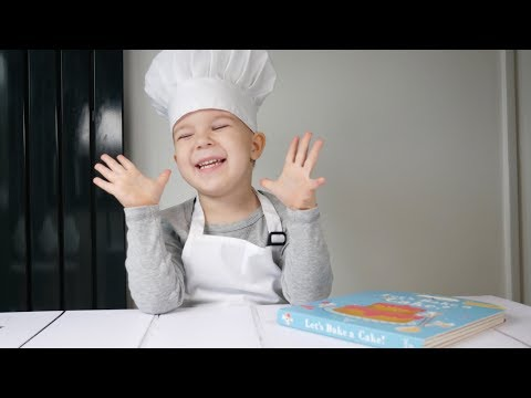 Let's Bake a Cake!   Children's Book Review