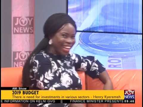 """2019 Budget: """"There Are Challenges With Implementation of IDIF"""" - AM Show on JoyNews (15-11-18)"""