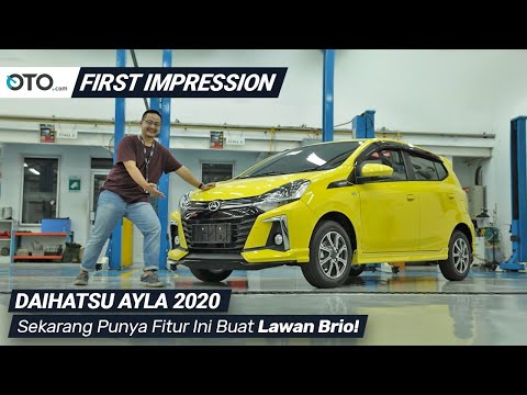 Daihatsu Ayla 2020 | First Impression | Apanya Yang beda? | OTO com
