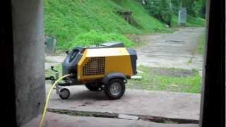 Ремонт бензинового компрессора Atlas Copco XAS 27 HP от компании Ремонтно-механическое предприятие ООО «Гермес» - видео