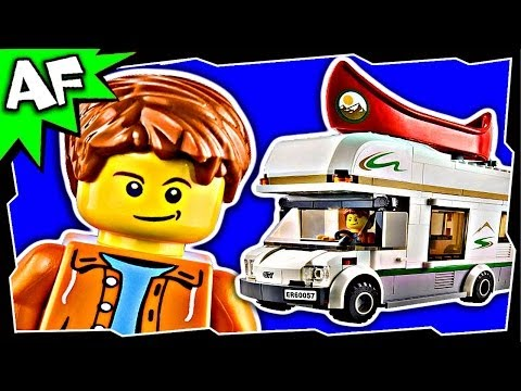 Vidéo LEGO City 60057 : Le camping-car et son canoë