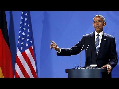 Βερολίνο: Το «αντίο» της Ευρώπης στον Μπαράκ Ομπάμα