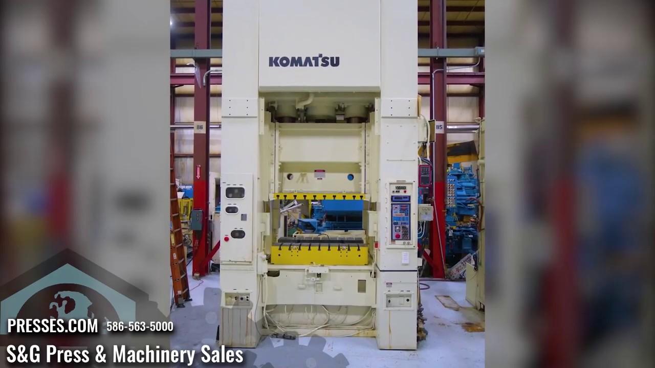 300 Ton Komatsu E2M-300 Straight Side Press
