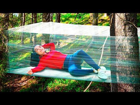 Primitive Bushcraft Shelter || Easy Crafts for Beginners #Shorts