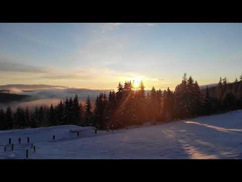 Die Galgenhütte im Winter