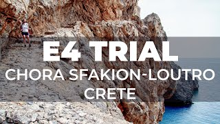 On foot from Chora Sfakion is Loutro