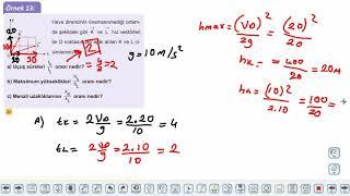 Eğitim Vadisi 11.Sınıf Fizik 8.Föy İki Boyutta Sabit İvmeli Hareket 3 Konu Anlatım Videoları