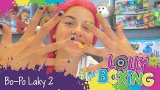 Lollyboxing 30 - Bo-Po Laky (nové sady se samolepkami akamínky)