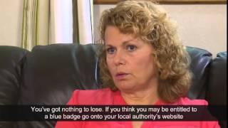 Blue Badge scheme - Sandra's story