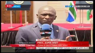 News Centre: Duncan Khaemba reports on bilateral talks between President Zuma and Uhuru, 11/10/16