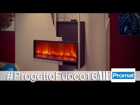 Promat presenta Promafour, le lastre isolanti per caminetti di design