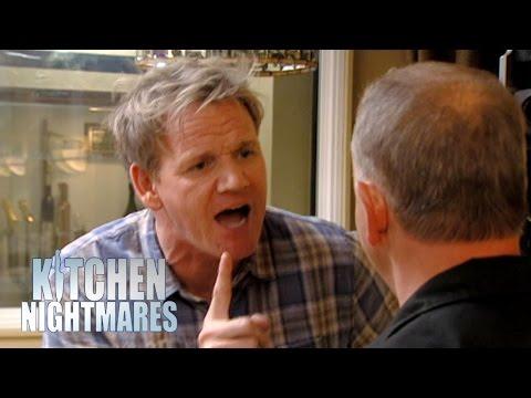 Ramsay Tears Down Fake Lying Chef Kitchen Nightmares Rebrn