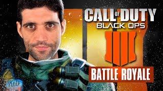 Call of Duty BATTLE ROYALE Blackout, jogando pela PRIMEIRA VEZ, ficou bom ou ficou RUIM?